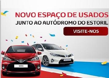 Novo Parque de Usados Toyota Plus em Cascais