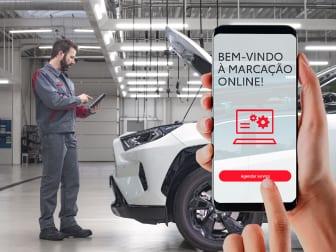 Marcação de serviço online = Oferta do IVA na Caetano City
