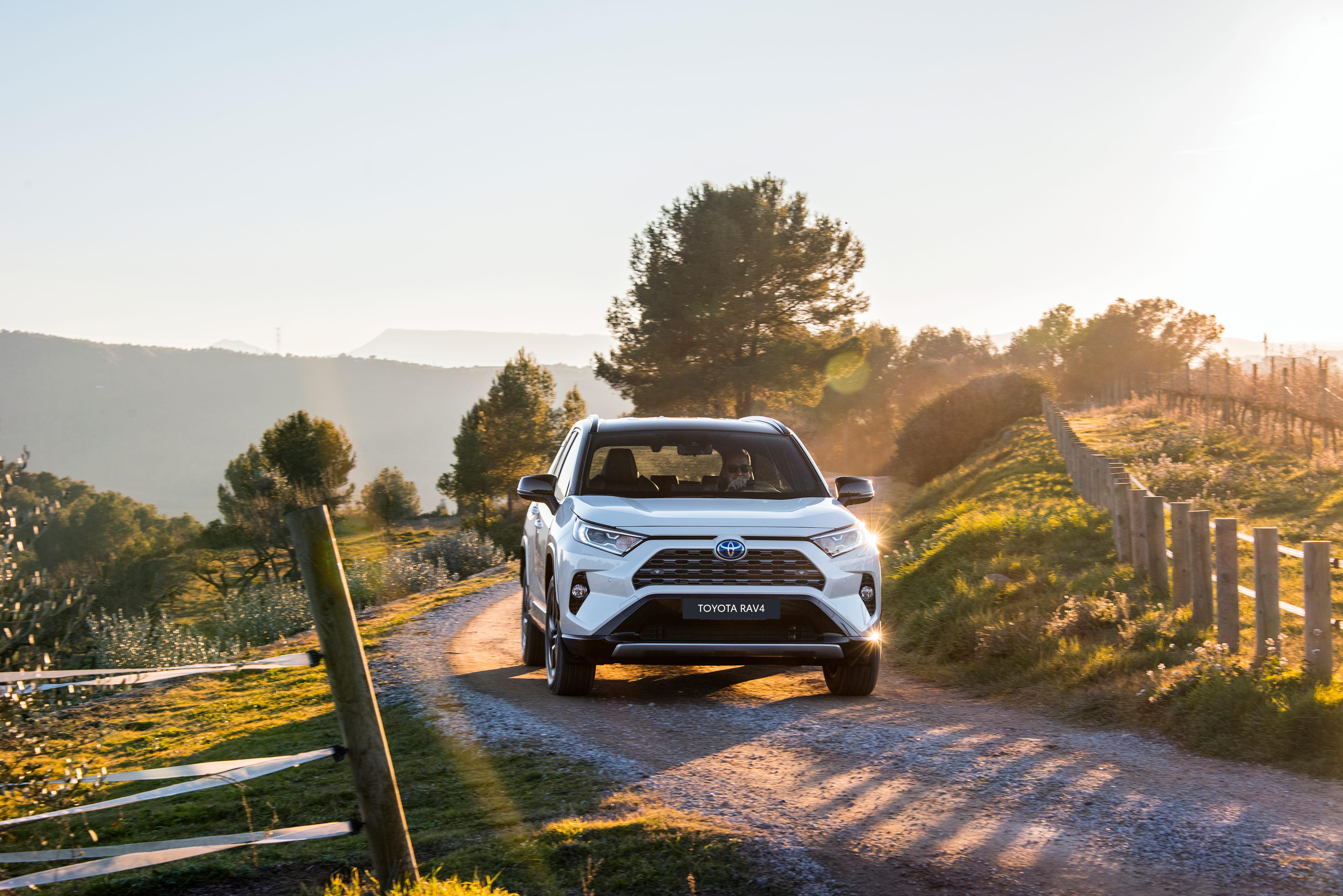 Toyota RAV carro para viagens