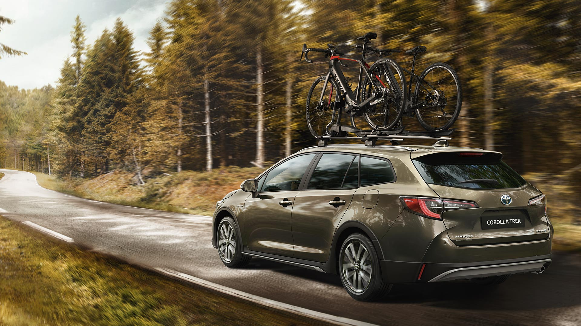 Carro Toyota Corolla Touring Sports viajar em família