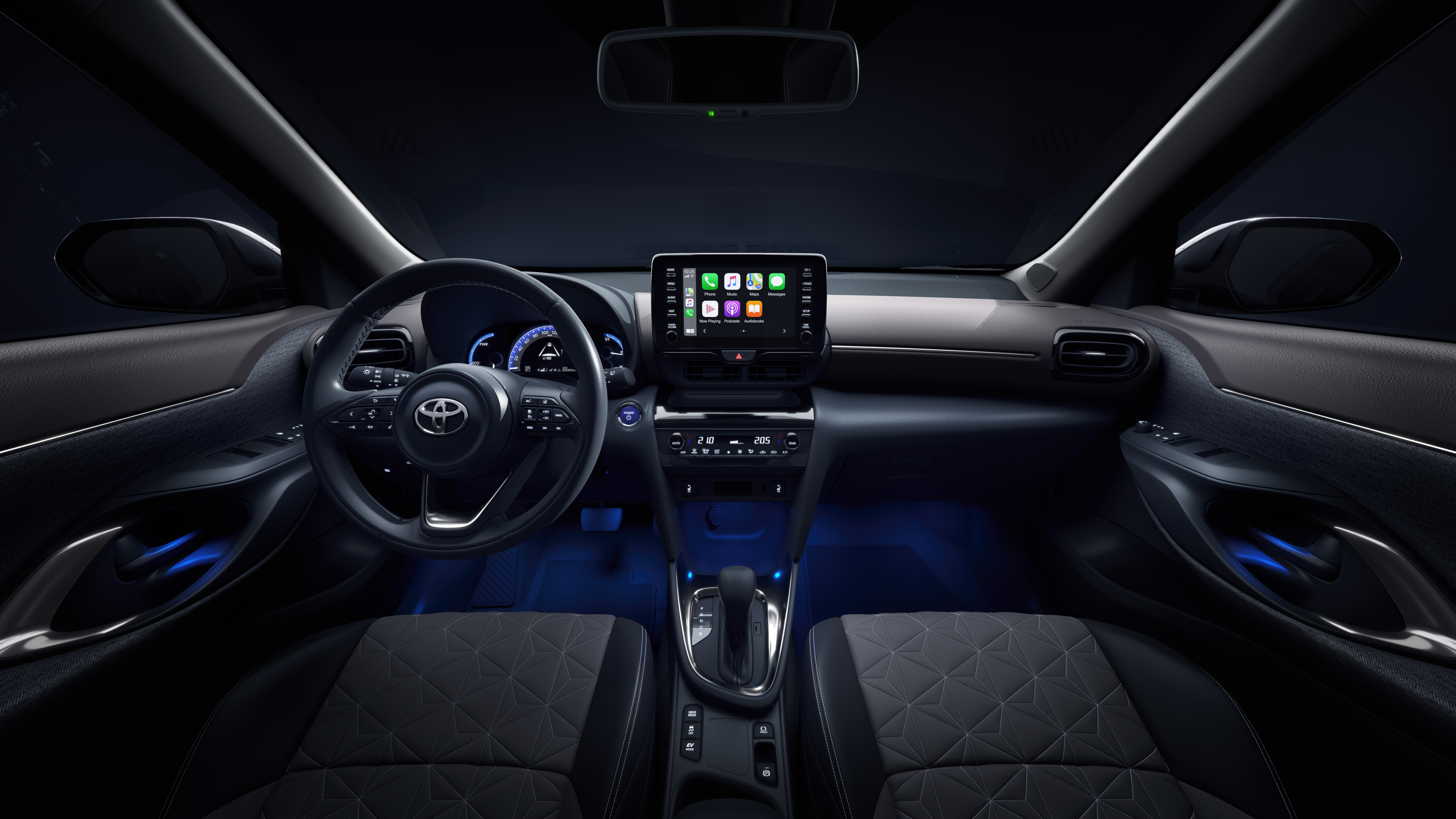 Tecnologia inteligente no Toyota Yaris Cross