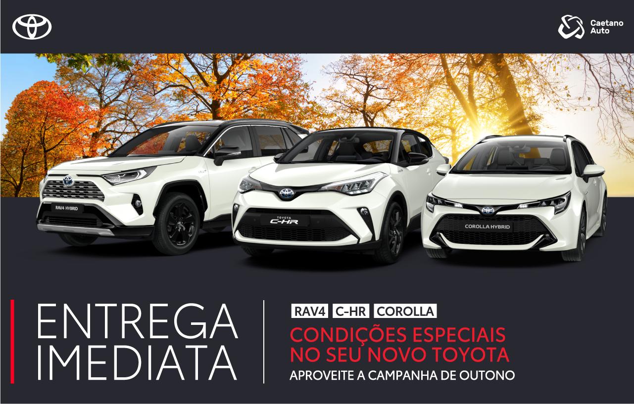 Campanha Toyota Entrega Imediata com Condições Especiais